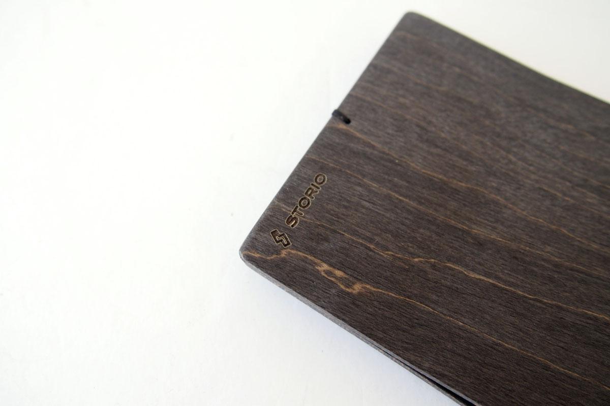 ストーリオ|STORIO|名刺入れ|木製|ブラック イメージ08