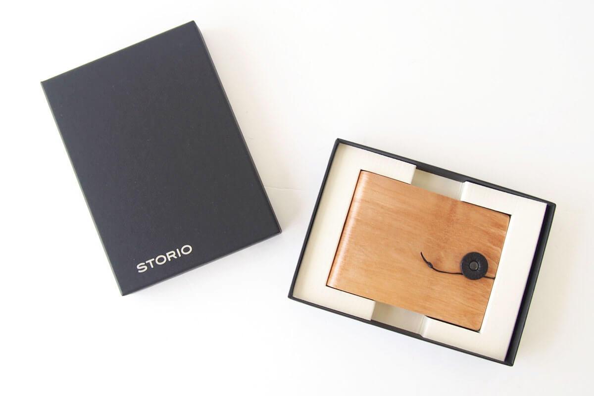 ストーリオ|STORIO|名刺入れ|木製|ナチュラル イメージ010
