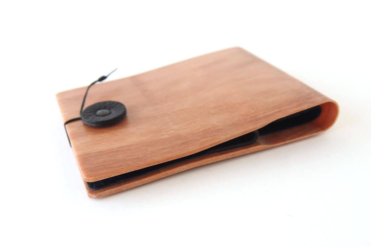 ストーリオ|STORIO|名刺入れ|木製|ナチュラル イメージ05