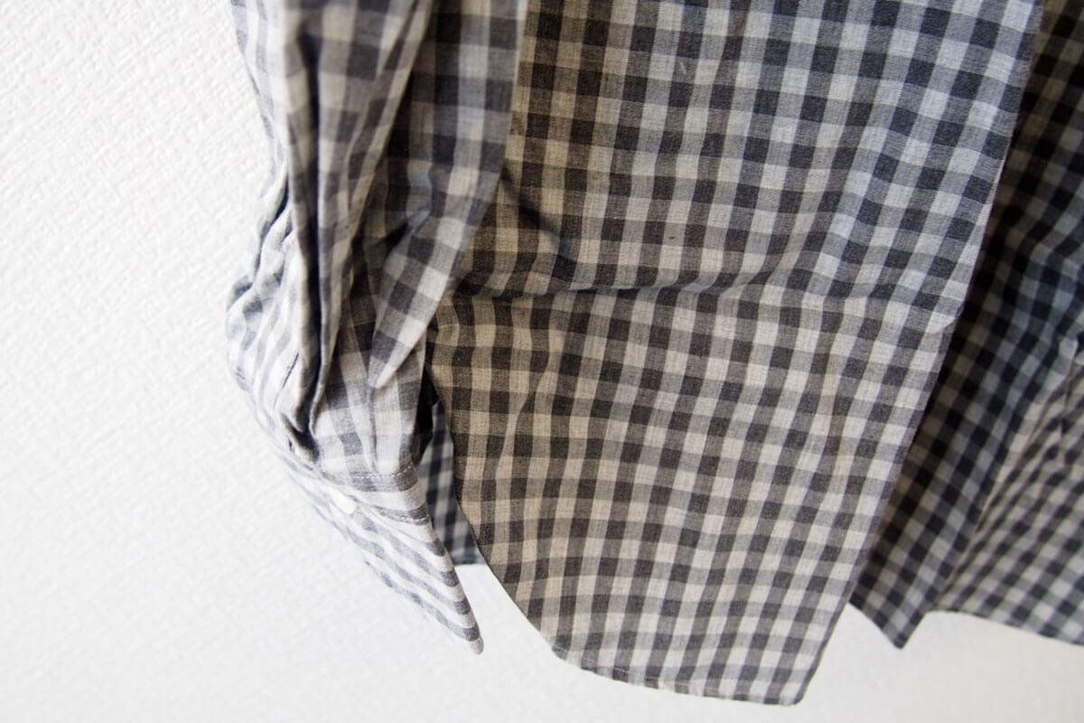 MGF965|チェック柄コットンシャツ|M|グレイ イメージ08