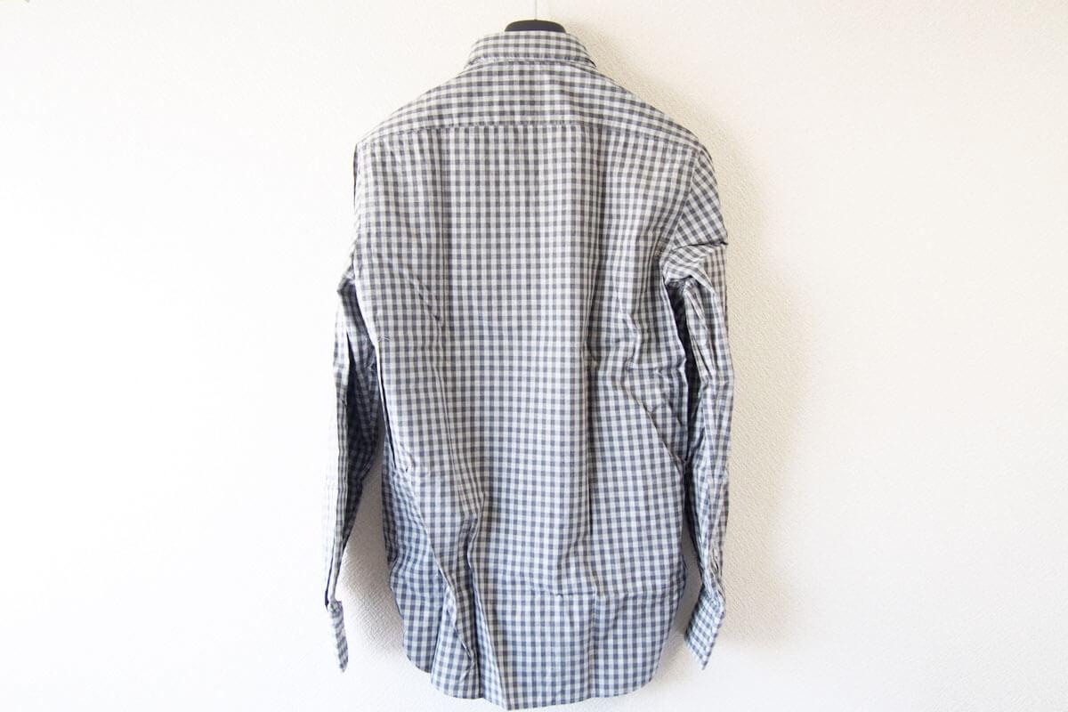 MGF965|チェック柄コットンシャツ|M|グレイ イメージ09