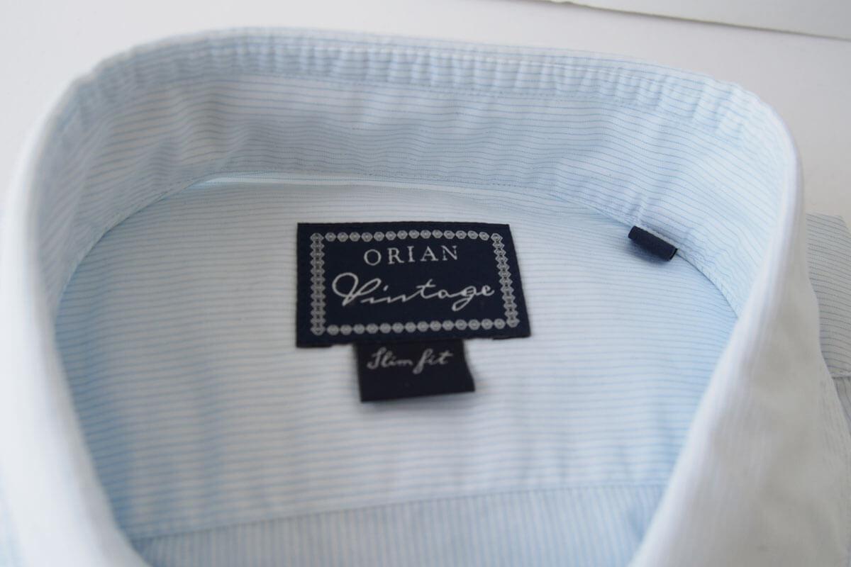 オリアン|ORIAN|ワイドカラーシャツ|スリムフィット|39|15 1/2|JH73 イメージ02
