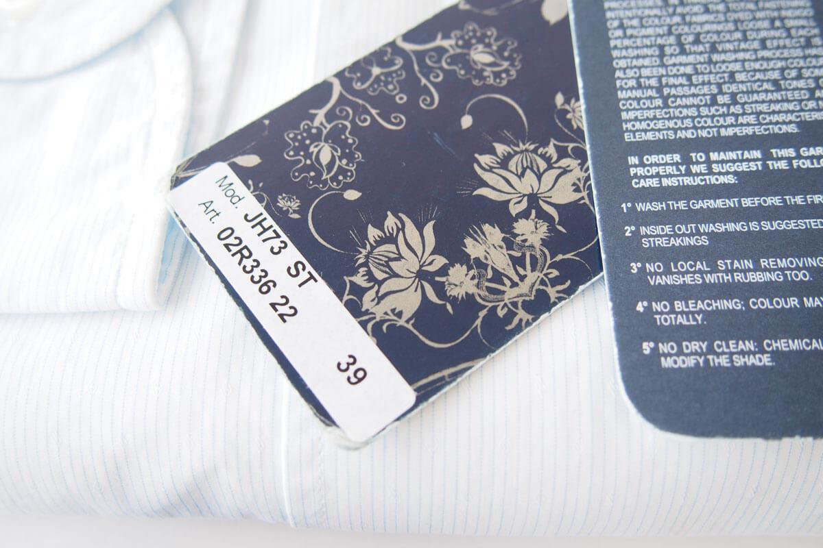 オリアン|ORIAN|ワイドカラーシャツ|スリムフィット|39|15 1/2|JH73 イメージ05