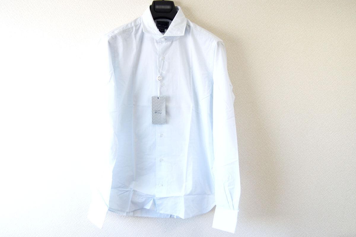 オリアン|ORIAN|ワイドカラーシャツ|スリムフィット|39|15 1/2|JH73 イメージ06