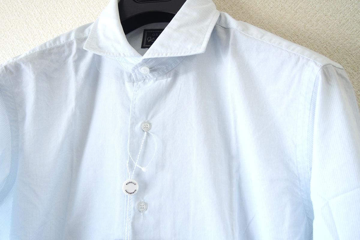 オリアン|ORIAN|ワイドカラーシャツ|スリムフィット|39|15 1/2|JH73 イメージ07