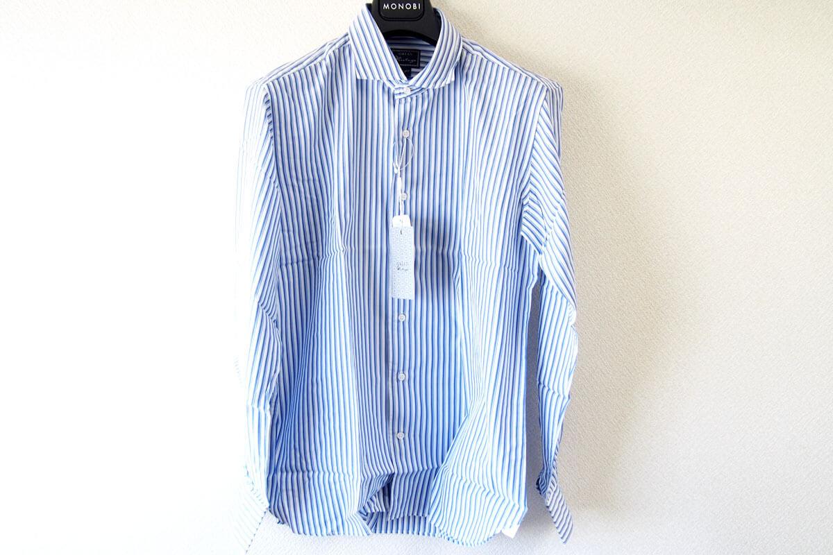 オリアン|ORIAN|ワイドカラーストライプシャツ|スリムフィット|41|16|JH73 イメージ06