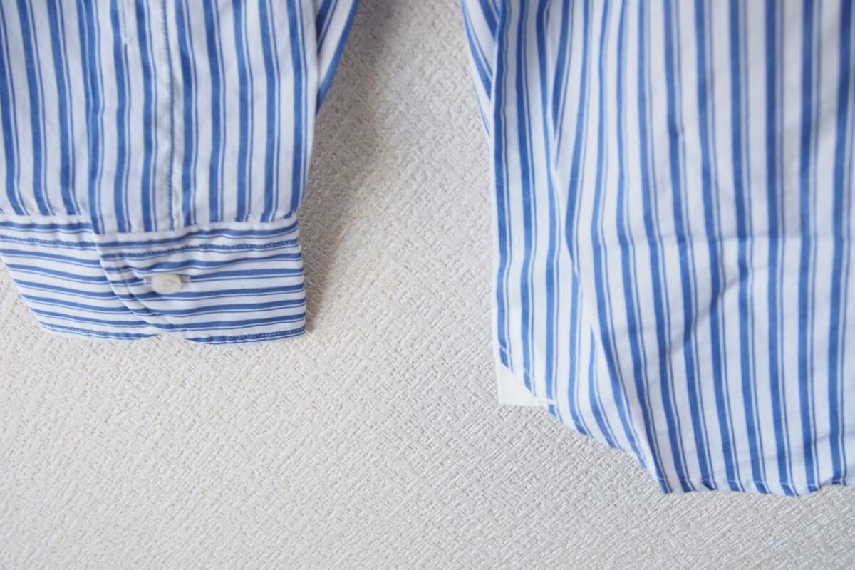 オリアン|ORIAN|ワイドカラーストライプシャツ|スリムフィット|41|16|JH73 イメージ08