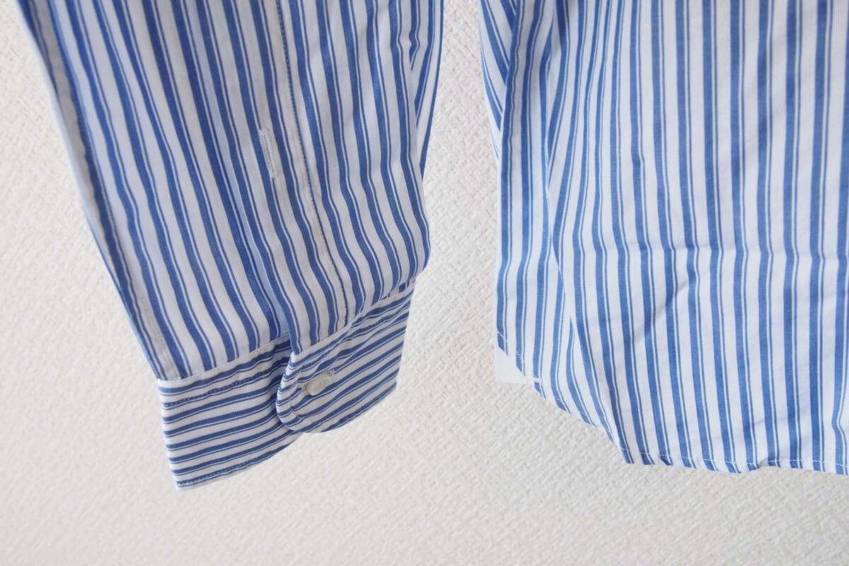 オリアン|ORIAN|ワイドカラーストライプシャツ|スリムフィット|41|16|JH73 イメージ09