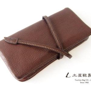土屋鞄製造所|TSUCHIYA KABAN|トーンオイルヌメ ループロングウォレット|こげ茶|TO1623DBイメージ01