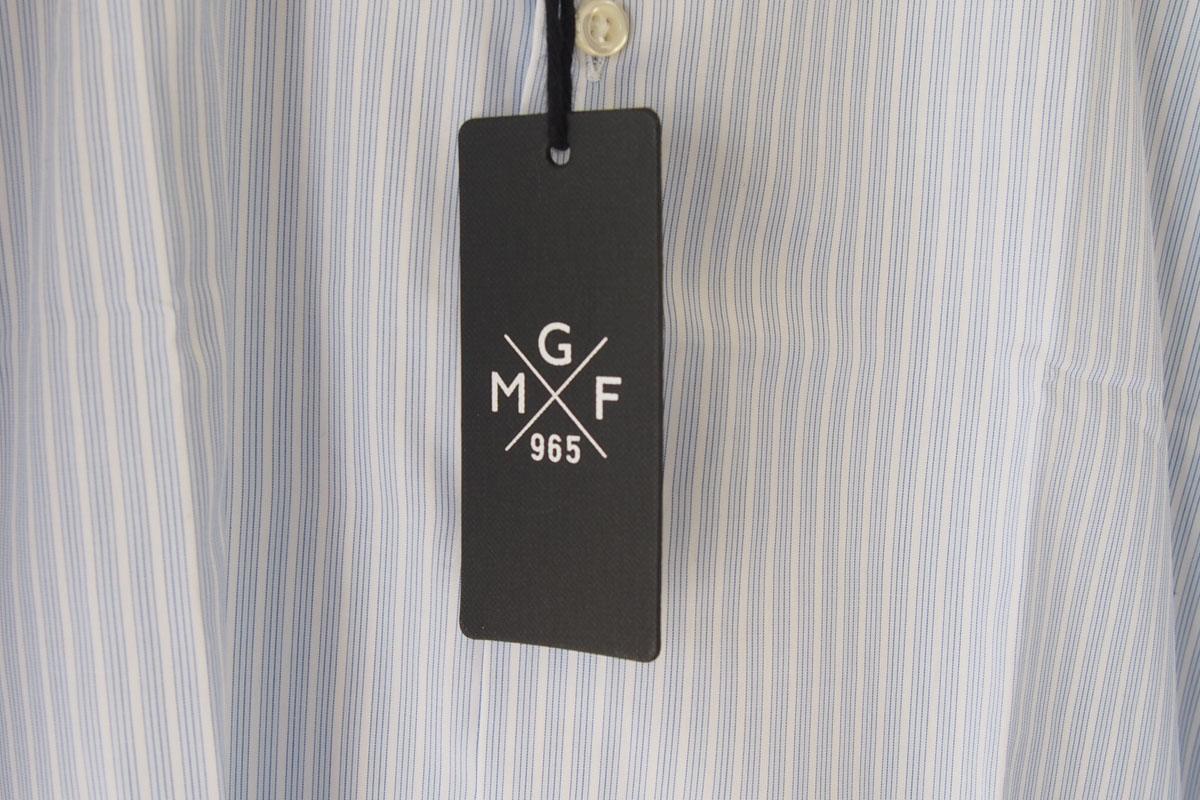 MGF965|MGF965|ストライプ柄コットンシャツ|38|ブルー(1)イメージ04