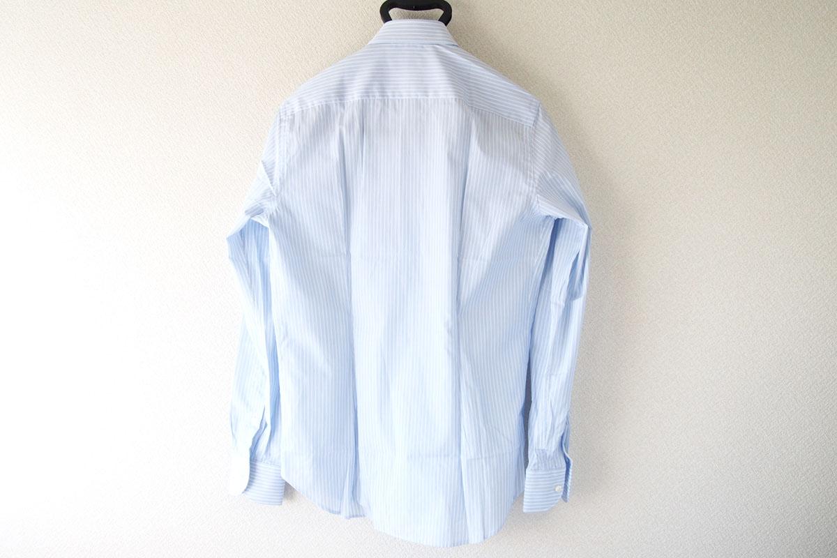 MGF965|MGF965|ストライプ柄コットンシャツ|38|ブルー(1)イメージ06