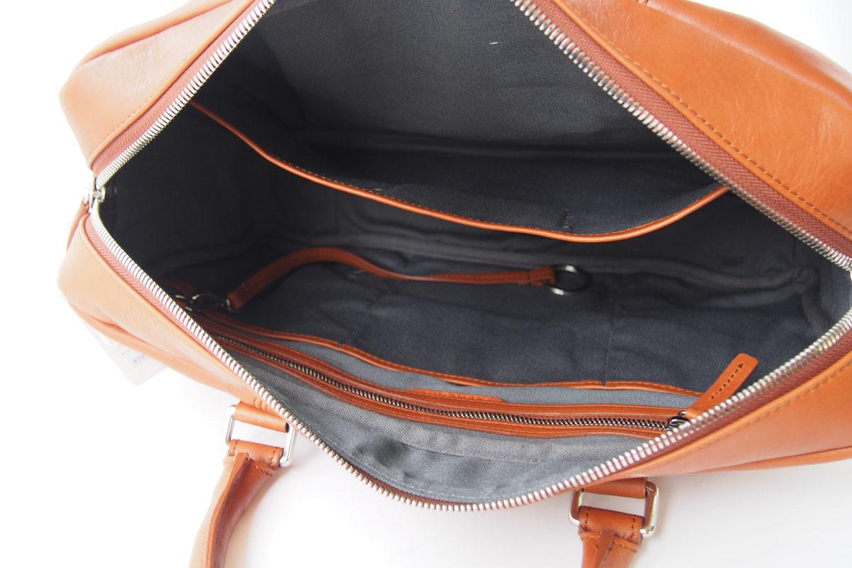 シャイノラ shinola ホーウィン社製レザー使用スリムブリーフケース ブラウンイメージ07