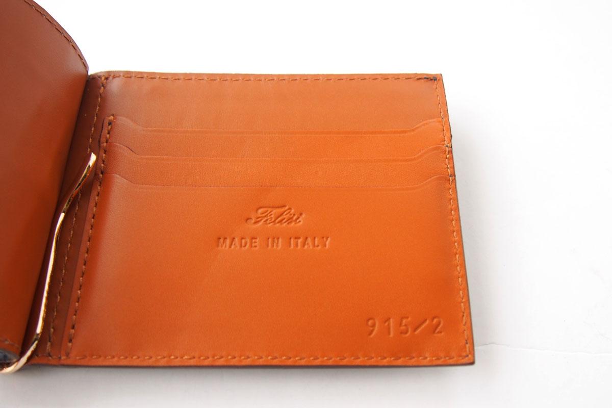 フェリージ|Felisi|折財布|マネークリップ|915/2/SA|ネイビーイメージ05