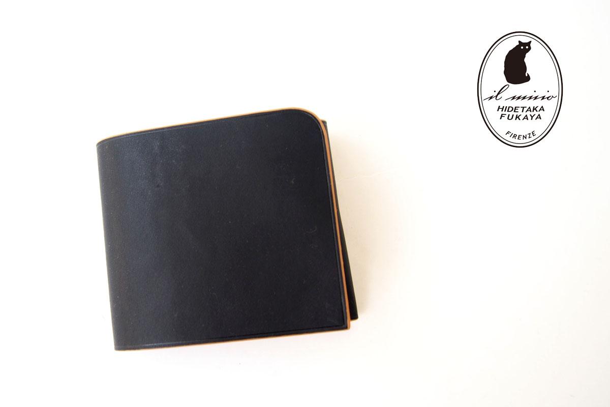 イルミーチョ|ilmicio|二つ折り財布|ブラックイメージ01