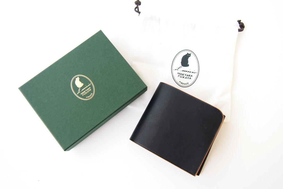 イルミーチョ|ilmicio|二つ折り財布|ブラックイメージ010