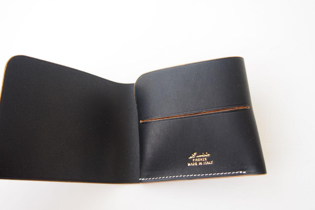 イルミーチョ|ilmicio|二つ折り財布|ブラックイメージ02