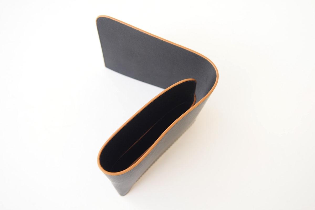 イルミーチョ|ilmicio|二つ折り財布|ブラックイメージ04