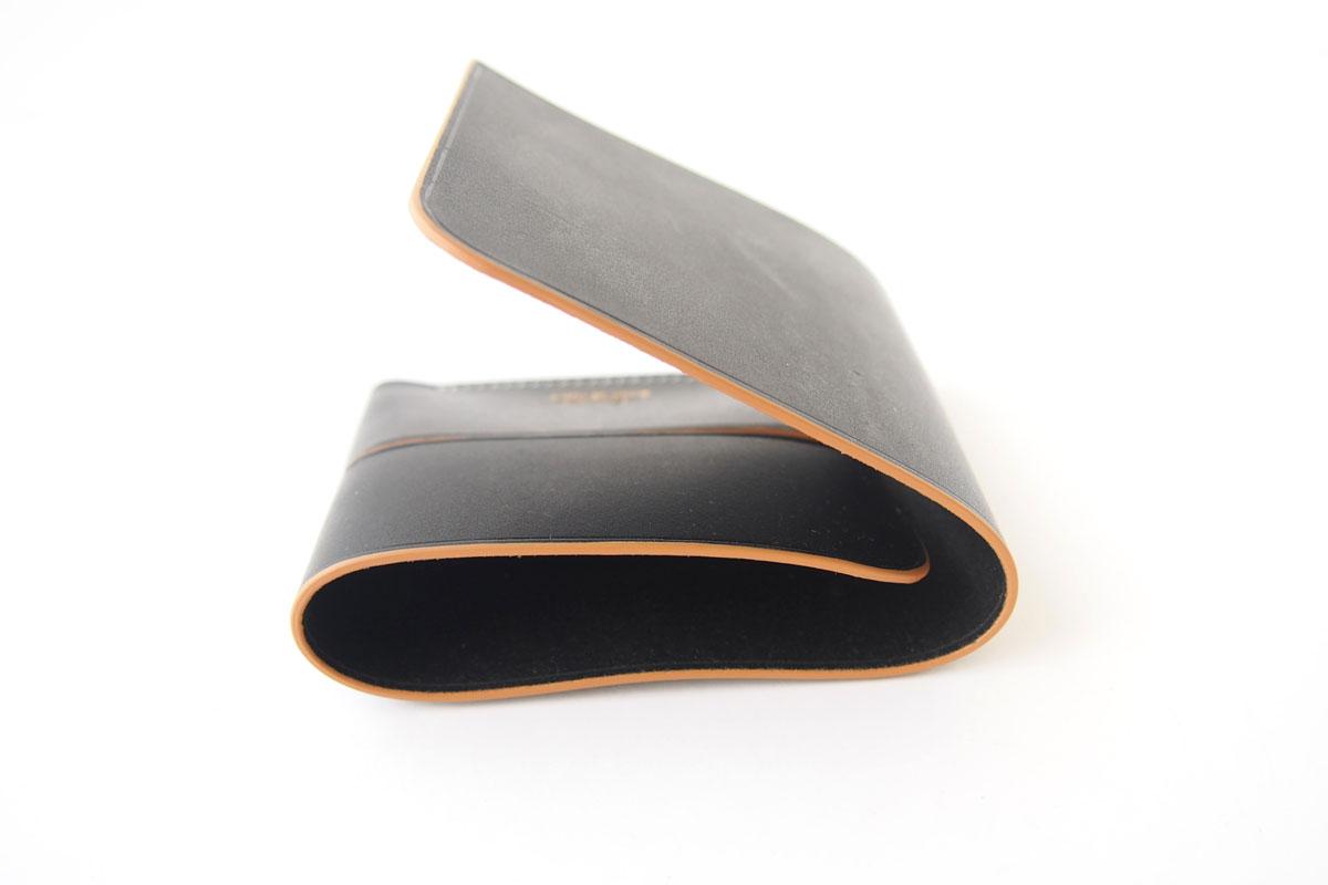 イルミーチョ|ilmicio|二つ折り財布|ブラックイメージ08