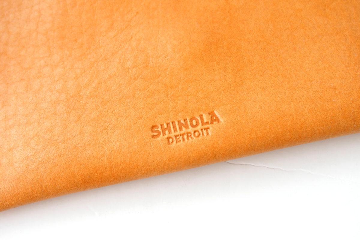 シャイノラ|shinola|ホーウィン社製レザー使用ポーチ|レザーケース|ライトブラウンイメージ04