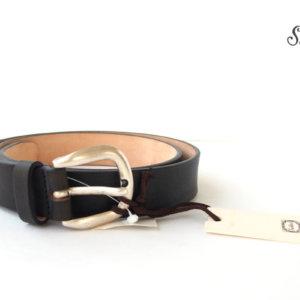 サドラーズ Saddler's ヴィンテージ加工フルグレインレザーベルト G342 ブラック 90イメージ01