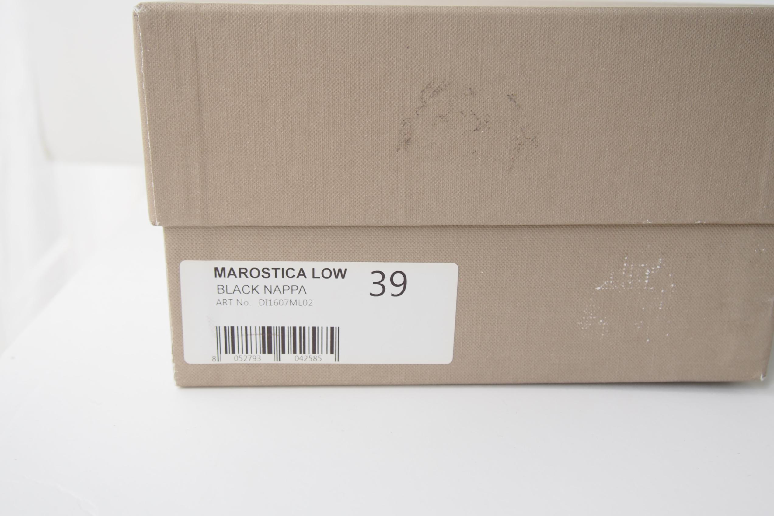 ディエッメ|DIEMME|MAROSTICA LOW BLACK NAPPA|スニーカーイメージ02