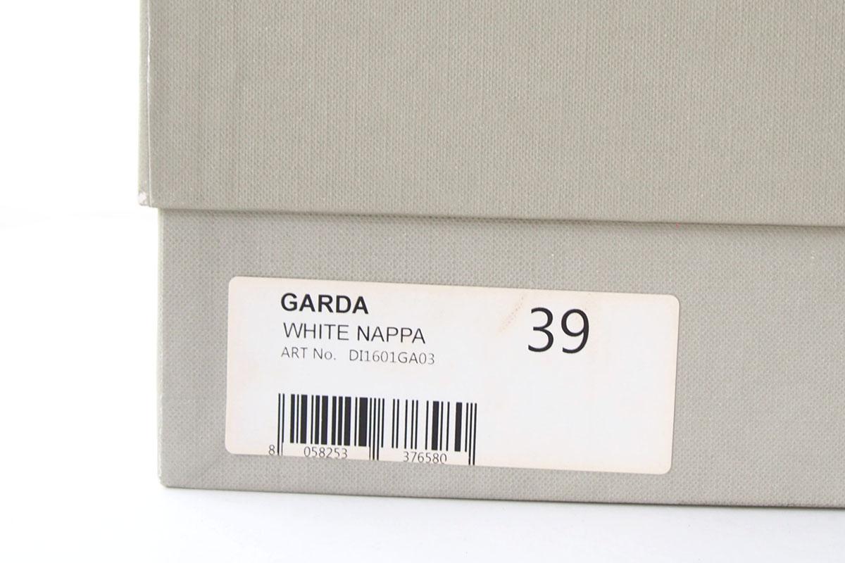 ディエッメ|DIEMME|レザースリッポンスニーカー|ガルダ|GARDA|39|WHITE NAPPAイメージ09