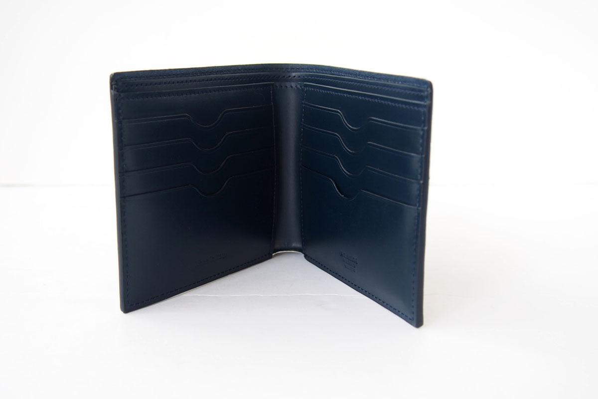 アラルディ ARALDI 1930 二つ折り財布 ウォレット TURCHESE ブルー AR B P293イメージ05