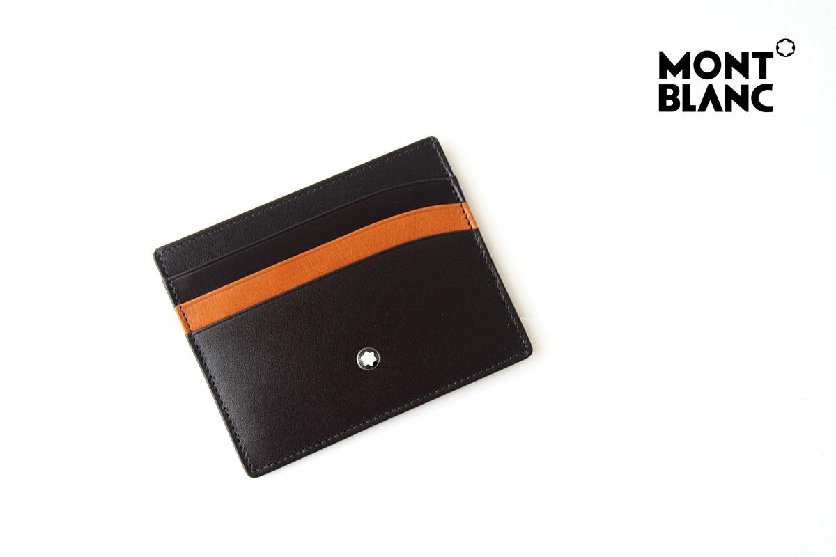 モンブラン|MONTBLANC|マイスターシュティック|カードケース|6cc|Brown-Tanイメージ01