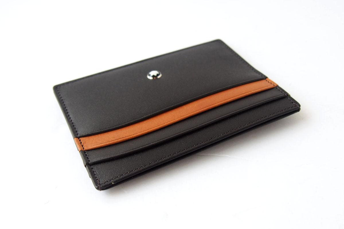 モンブラン|MONTBLANC|マイスターシュティック|カードケース|6cc|Brown-Tanイメージ05