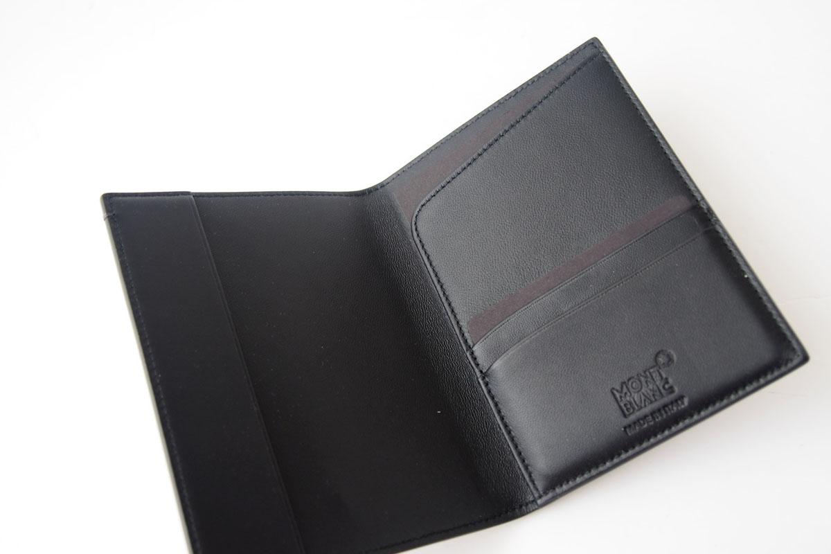 モンブラン|MONTBLANC|マイスターシュティックセレクション|パスポートホルダー|SFUMATO|ブラックイメージ05