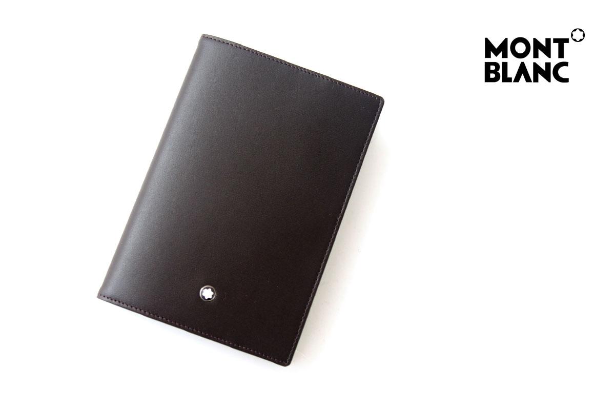 モンブラン|MONTBLANC|マイスターシュティックセレクション|クラシック|パスポートホルダー|ブラウンイメージ01