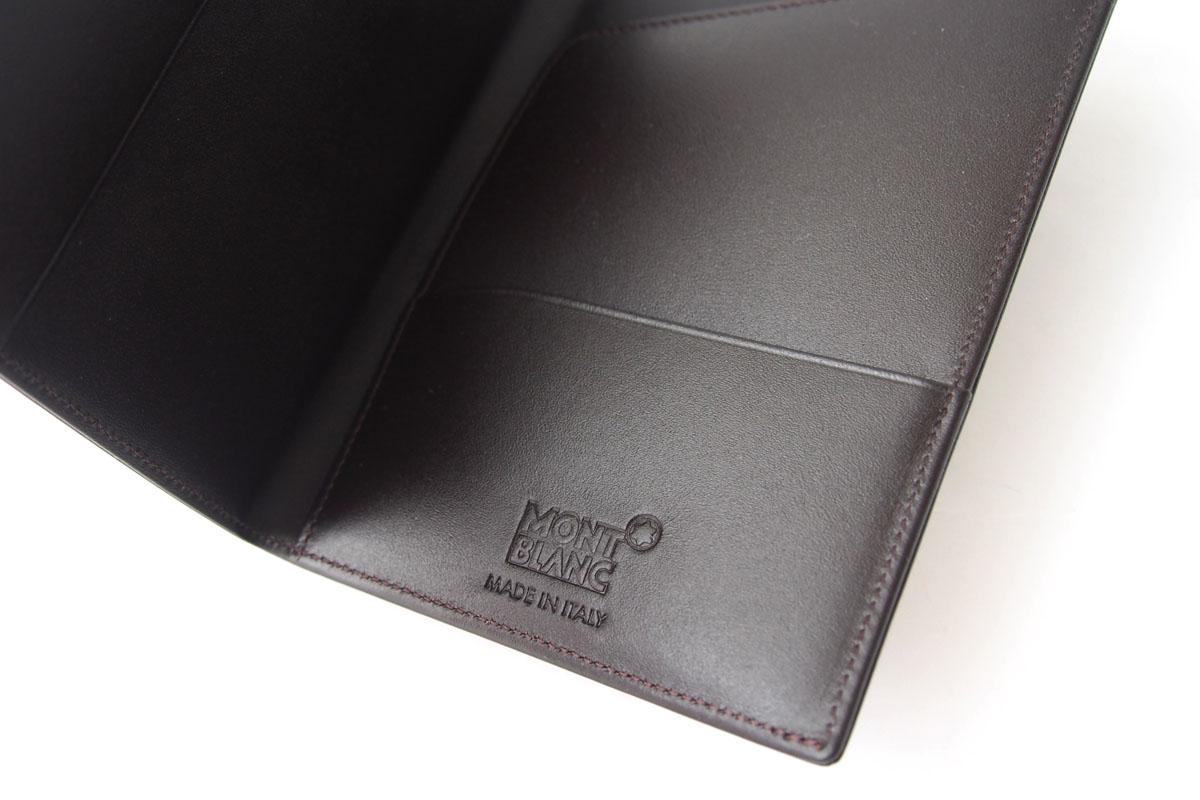 モンブラン|MONTBLANC|マイスターシュティックセレクション|クラシック|パスポートホルダー|ブラウンイメージ06