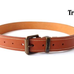 トリッカーズ Tricker's レザーベルト ステッチ入り Mイメージ01