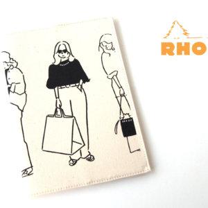 ロディア|RHODIA|ロフト限定 RHODIA×Yu Nagaba|ロディアA5ノート&カバー|ガールズ ナチュラルイメージ01
