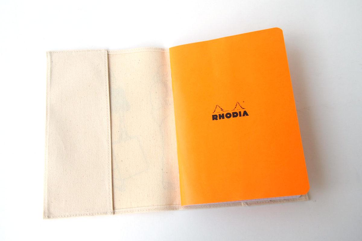 ロディア|RHODIA|ロフト限定 RHODIA×Yu Nagaba|ロディアA5ノート&カバー|ガールズ ナチュラルイメージ06