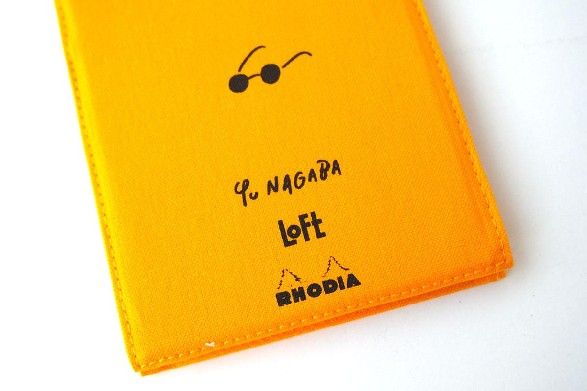 ロディア|RHODIA|ロフト限定 RHODIA×Yu Nagaba|ブロックロディアNo.13&カバー|イエロー(ガール)イメージ04