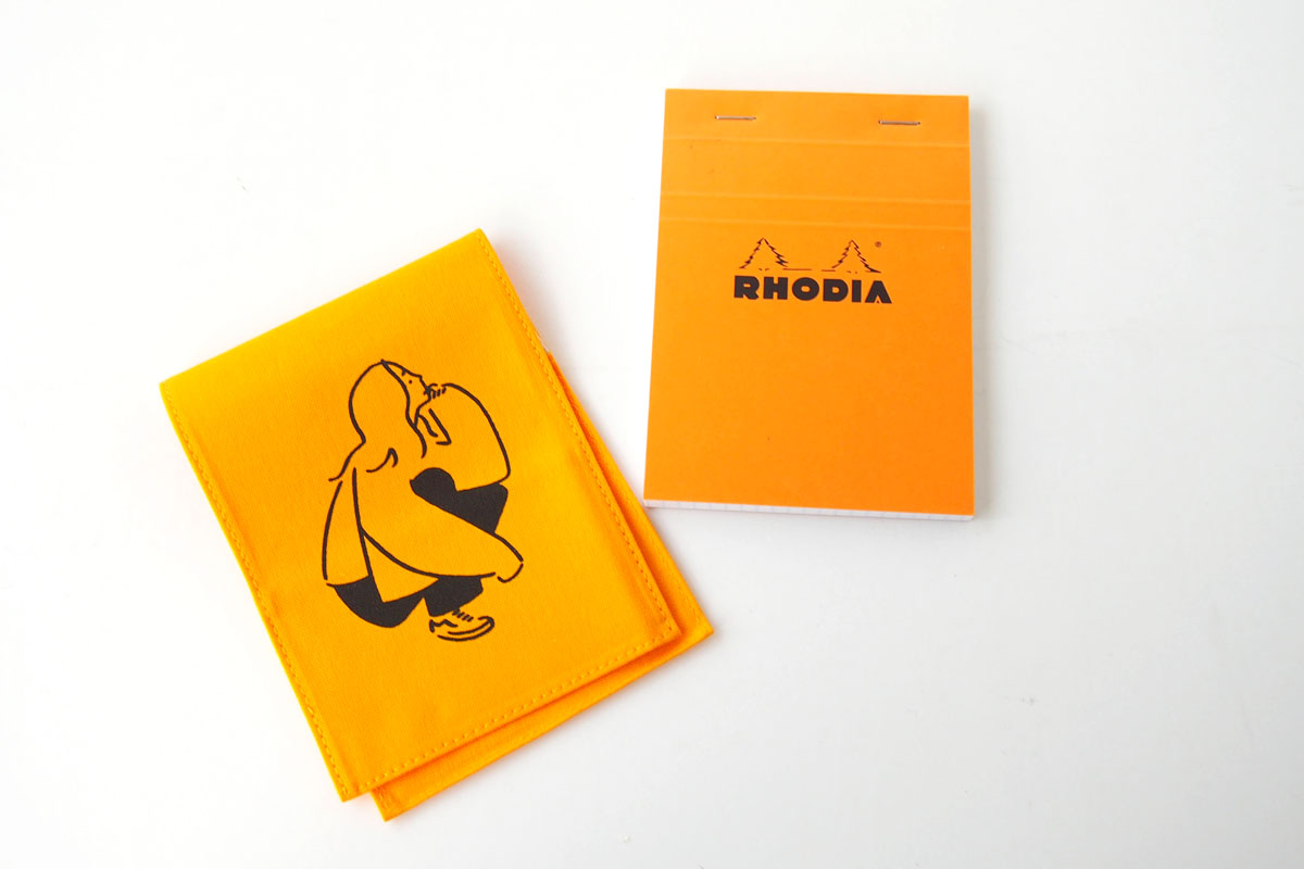 ロディア|RHODIA|ロフト限定 RHODIA×Yu Nagaba|ブロックロディアNo.13&カバー|イエロー(ガール)イメージ06