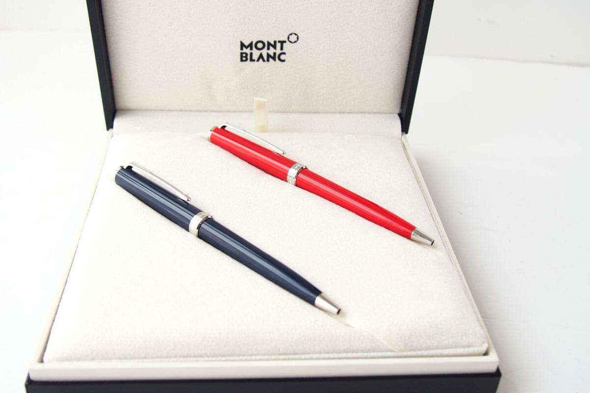 モンブラン|MONTBLANC|PIXドイツ製ボールペン2本セット|PIX BLUE BALLPOINT PEN & RED  BLUE BALLPOINT PENイメージ06