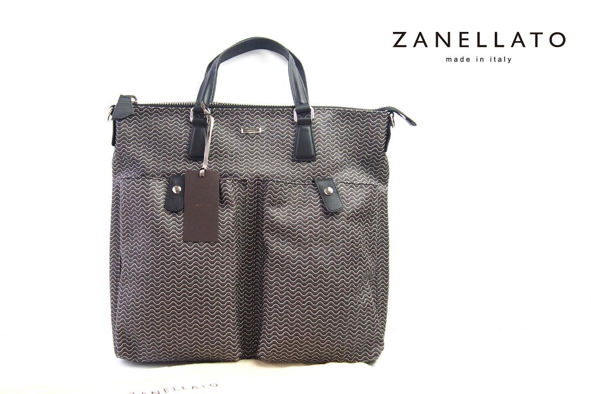 ザネラート|ZANELLATO|GIOBATTA|ヘルメットバッグ|ブランディーン|ブラック イメージ01