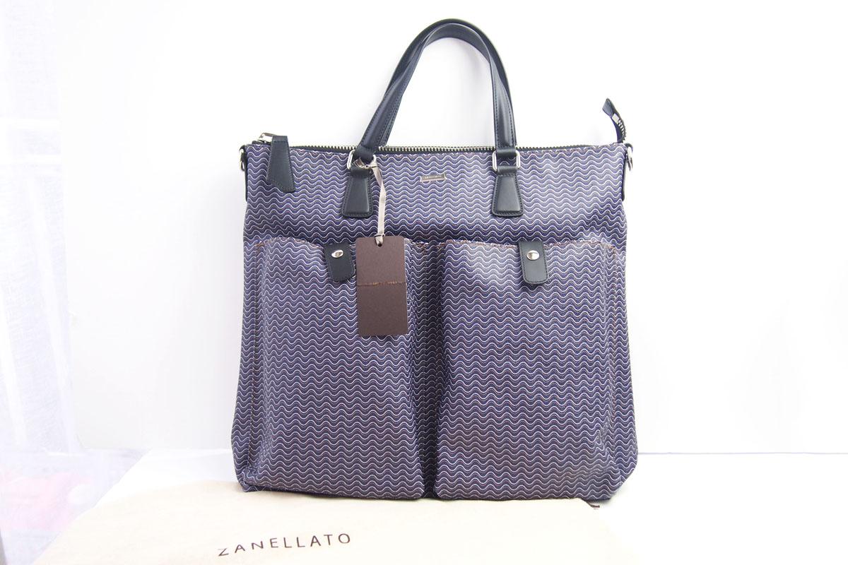 ザネラート|ZANELLATO|GIOBATTA|ヘルメットバッグ|ブランディーン|ネイビー イメージ08
