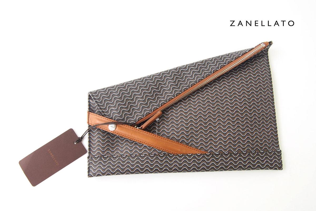 ザネラート|ZANELLATO|クラッチバッグ|36085|BLANDINE ブランディン|ブラックイメージ01