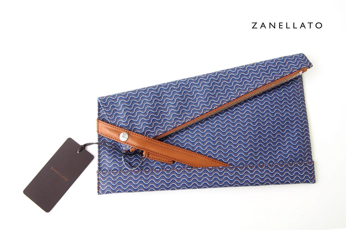 ザネラート|ZANELLATO|クラッチバッグ|36085|BLANDINE ブランディン|ネイビーイメージ01