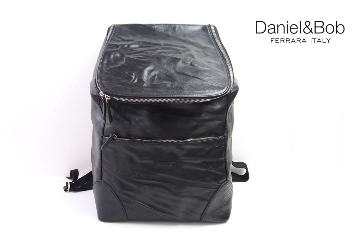ダニエルアンドボブ|Daniel&Bob|ローディーレザーバックパック|リュックサック|RODI|DABP3611636|COL.99|ブラック イメージ01