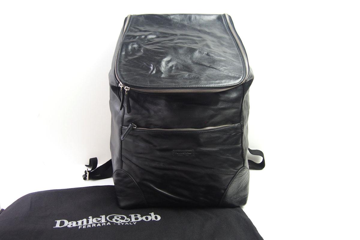 ダニエルアンドボブ|Daniel&Bob|ローディーレザーバックパック|リュックサック|RODI|DABP3611636|COL.99|ブラック イメージ09