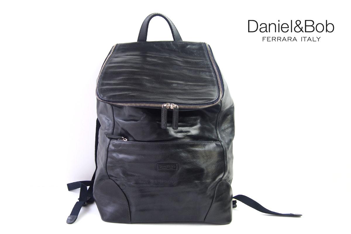 ダニエルアンドボブ|Daniel&Bob|ローディーレザーバックパック|リュックサック|RODI|DABP3611636|COL.87|ネイビー イメージ01