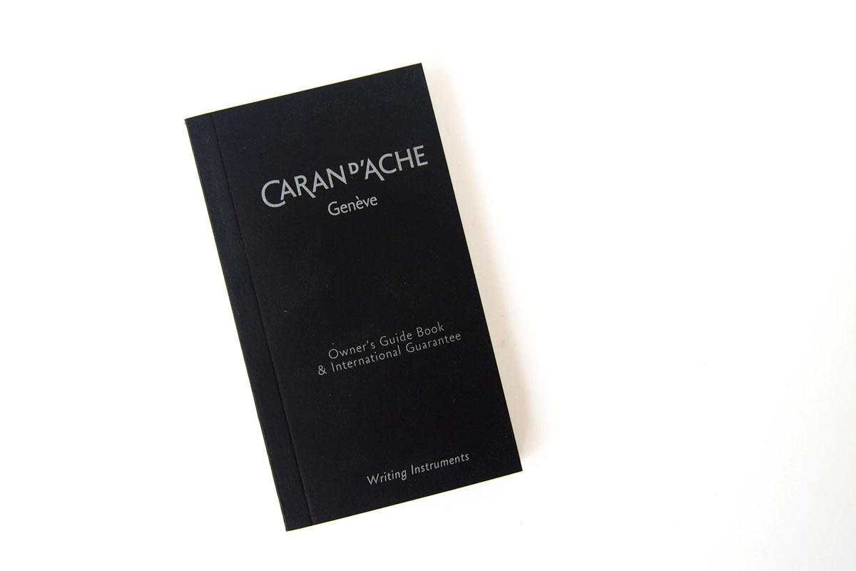 カランダッシュ|Caran d'Ache|エクリドール ヒュッゲ ギフトセット|クリスマス限定 2017イメージ09 保証書