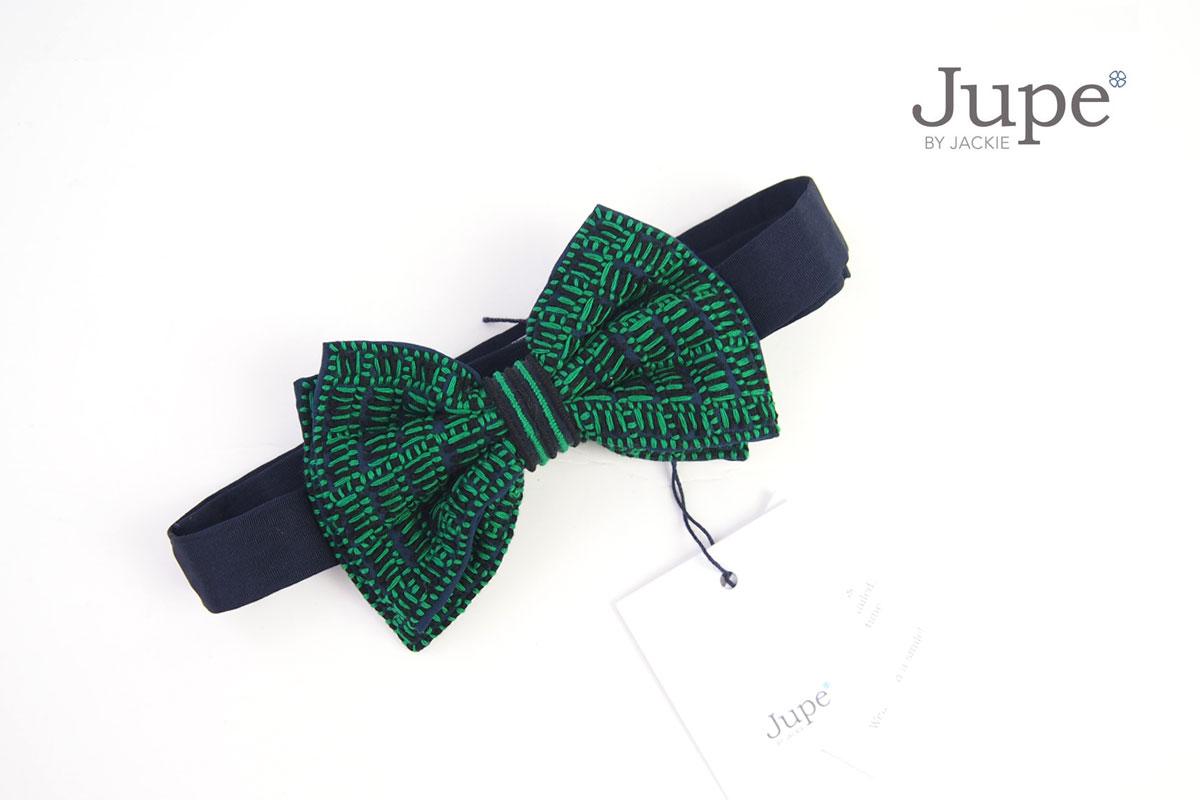 ジュープ バイ ジャッキー|Jupe by Jackie|ハンドメイドボウタイ|蝶ネクタイ|グリーン イメージ01