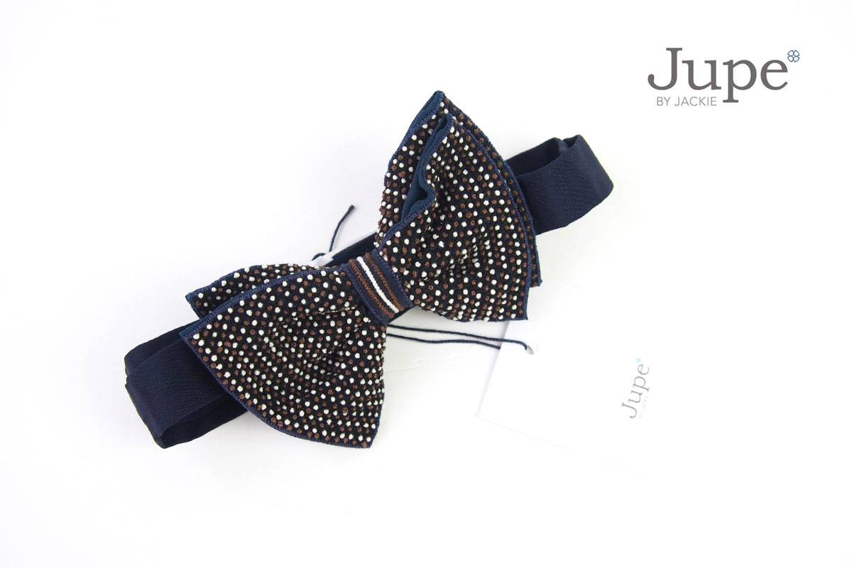 ジュープ バイ ジャッキー|Jupe by Jackie|ハンドメイドボウタイ|蝶ネクタイ|ブラウン イメージ01