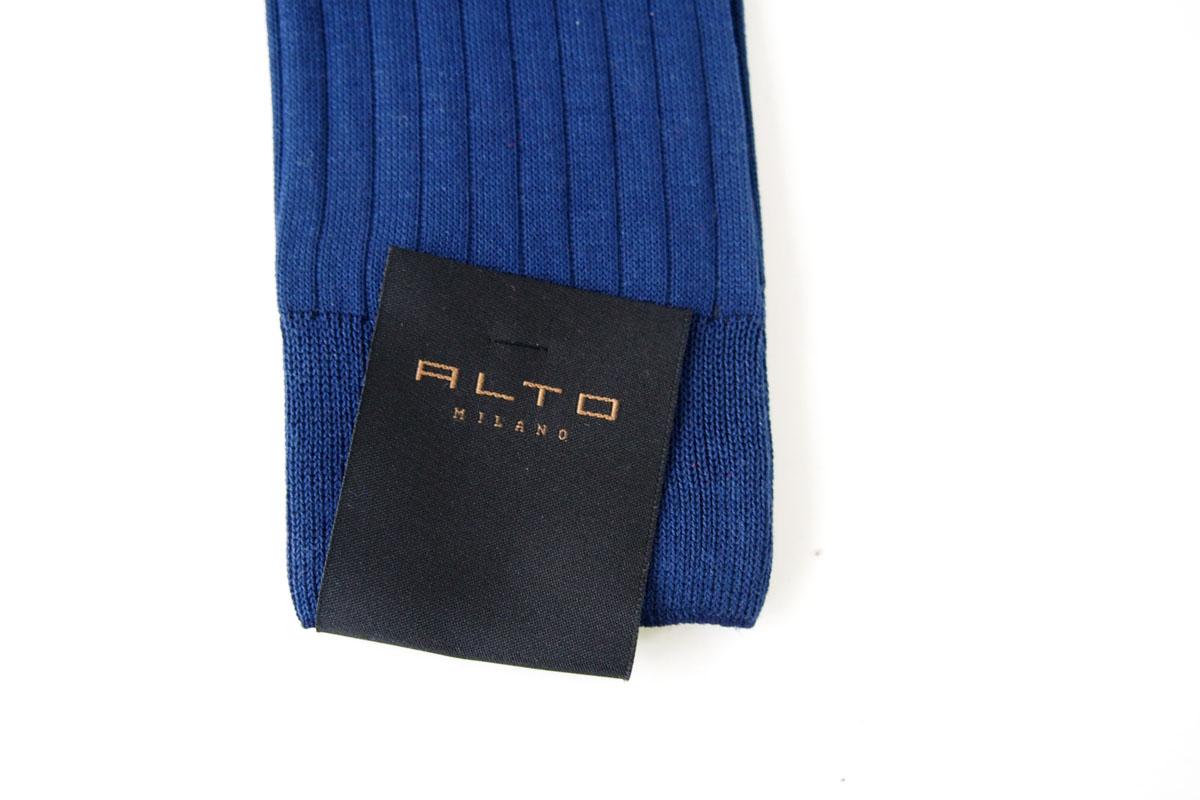 アルト|ALTO|クルー丈リブソックス|39-42|ネイビーイメージ04
