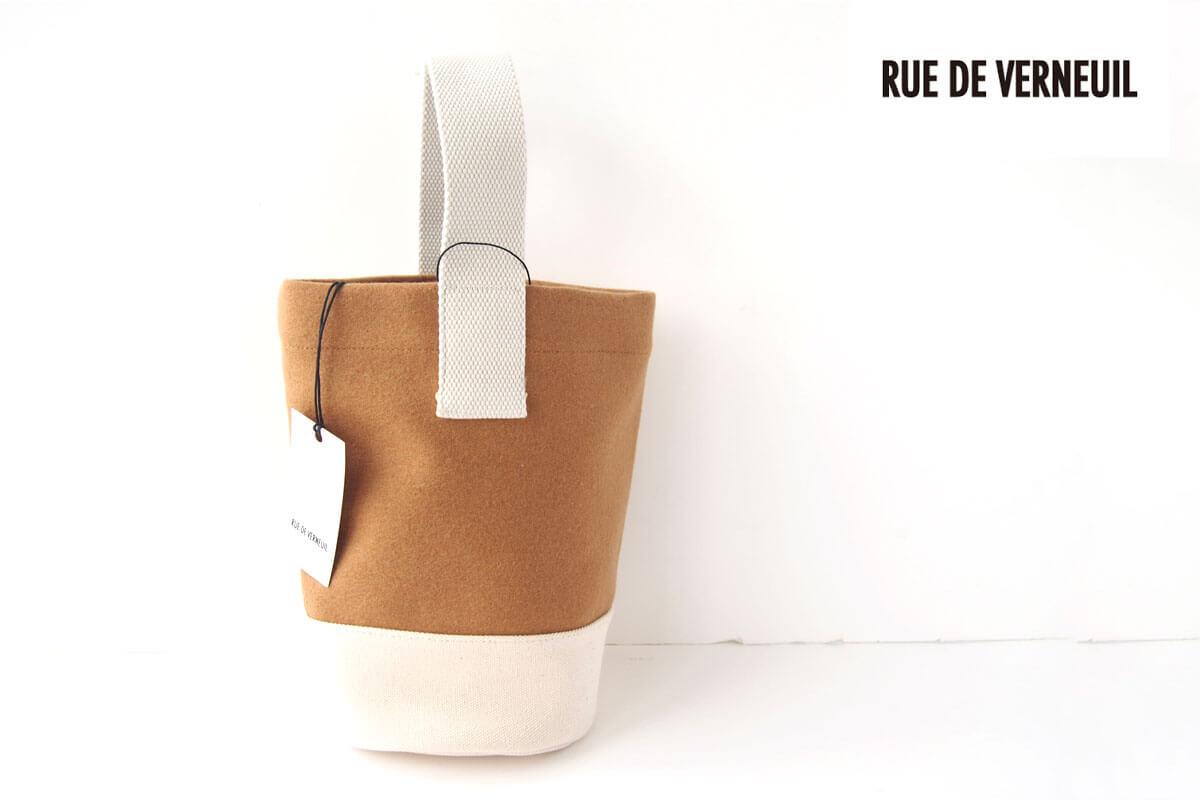 リュ ドゥ ヴェルヌイユ|RUE DE VERNEUIL|バケットバッグ|ベージュイメージ01